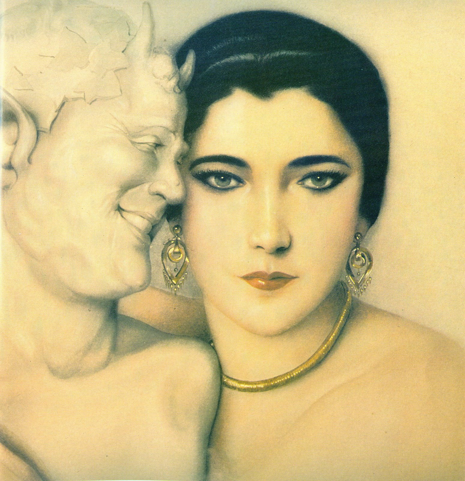 """NITA NALDI"", : ALBERTO VARGAS, 1923!"