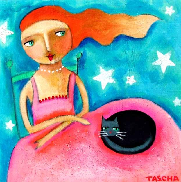"""UNDER THE STARS WITH KITTY"" ΖΩΓΡΑΦΟΣ : TASCHA!"