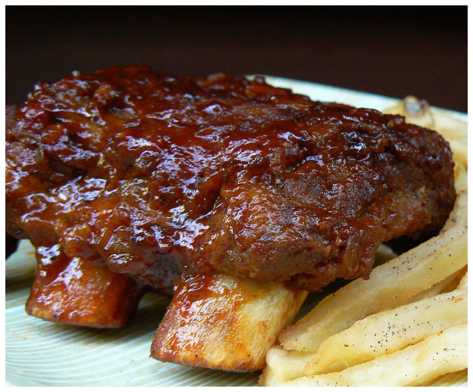 Le palais gourmand c tes lev es au cola et la sauce - Comment cuisiner des cotes de sanglier ...