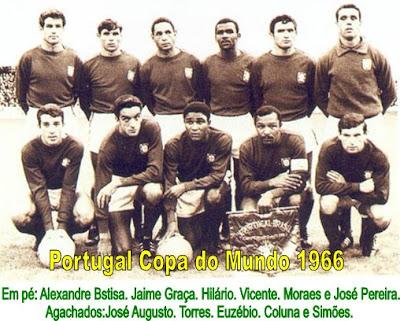 Portugal x URSS PORTUGAL+1966