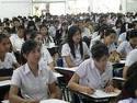 รูปภาพนักศึกษากำลังเรียน