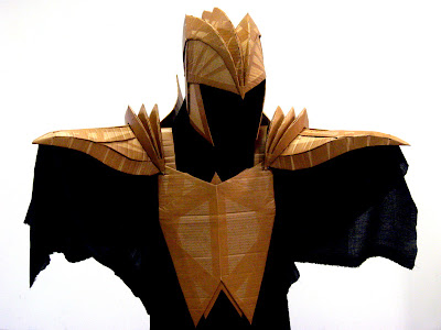 Beastly ribs cardboard armor for Cardboard armour template