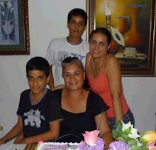 Gloria, Johanna, Sebastian y Ronald