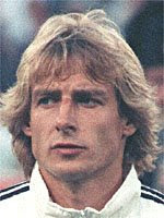 Jurgen Klinsmann ( Germania, 1987-1998 )