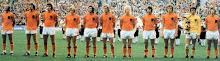 Olanda'74:Neeskens,Krol,Van Hanegem,Jansen,Suurbier,Rep,Rijbergen,Rensenbrink,Haan,Jongbloed,Cruyff