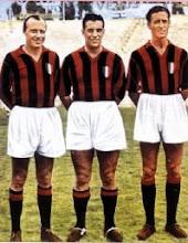 Gunnar Gren, Gunnar Nordahl, Nils Nisse Leiedholm ( GRE-NO-LI, A.C.Milan, 1949-1956)