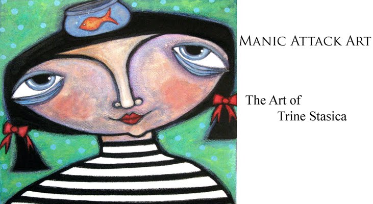 Manic Attack Art