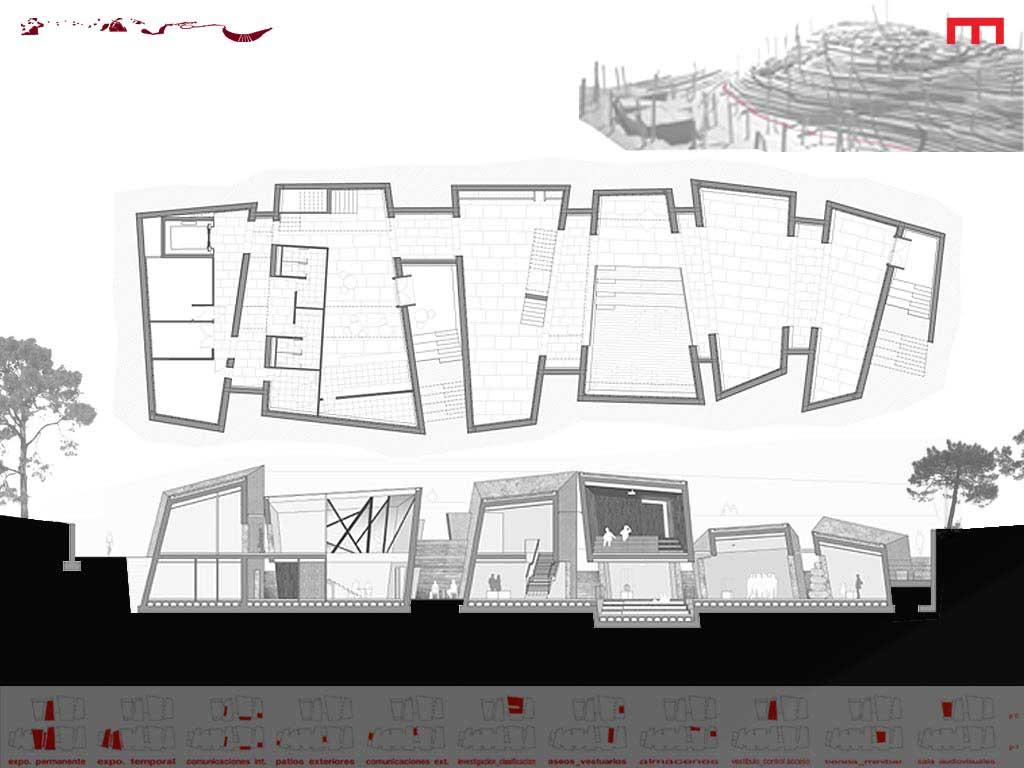 portfolio arquitectura planimetria museo da cida dic 2010