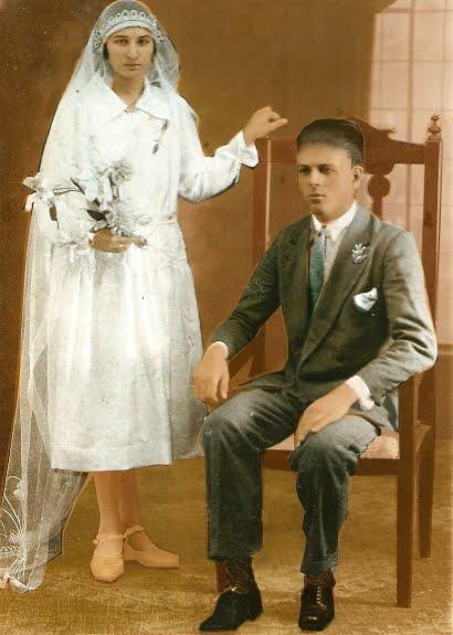 Mis Padres: Catalina Lechmann y José Gareis