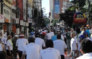 Inauguração das ciclofaixa em Campinas