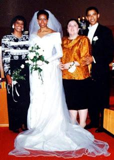 Marian Robinson con su hija, Michelle... Ann Dunham con su hijo, Barack Obama