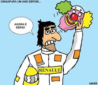 Grande premio de cingapura 2009 Nelson Piquet o nelsinho e o escandalo da Renault