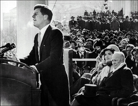 john f kennedys inagural speech The american presidency project contains the most comprehensive collection of resources pertaining to the study of the president of the united states compiled by.