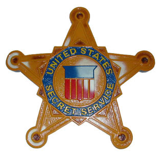 WERE THERE FAKE SECRET SERVICE AGENTS IN DEALEY PLAZA ON 11 22 63 Secret Service Agents Badge