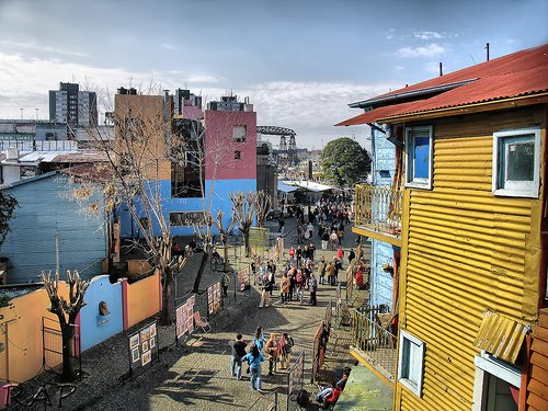 Caminito, La Boca...Let's take a colorful ride!