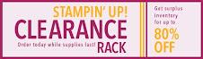 Clearance Rack.