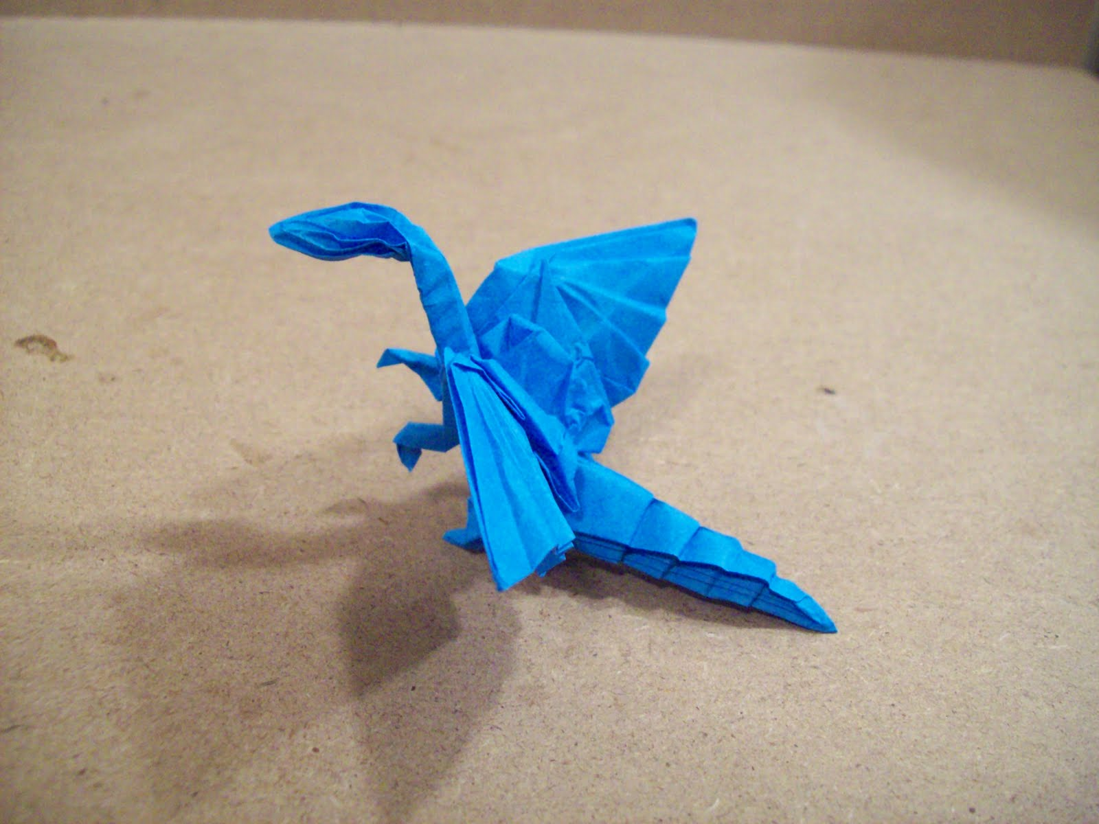 How To Make A Realistic Origami Dragon