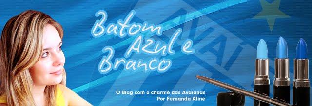 BATOM AZUL E BRANCO
