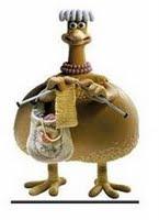 A galinha..