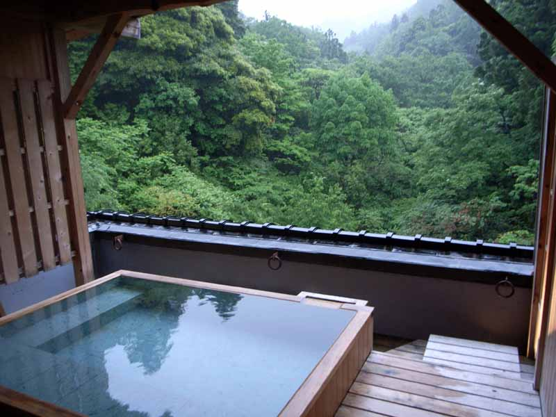 Kayotei ryokan at yamanaka onsen in ishikawa inside kyoto - Ryokan tokyo with private bathroom ...