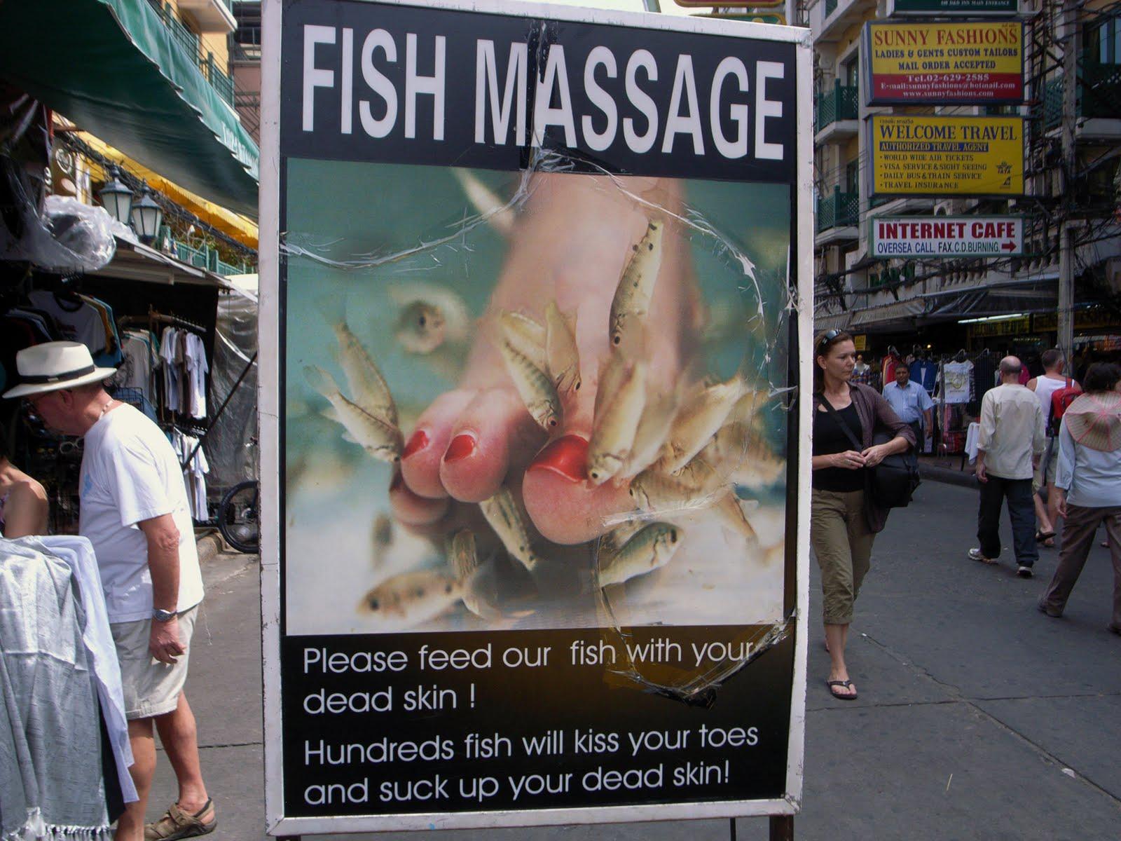Fish%2BMassage%2BKhao%2BSan%2BI 【TOONDRA Comics Free/Adult/Acti】屏幕截图