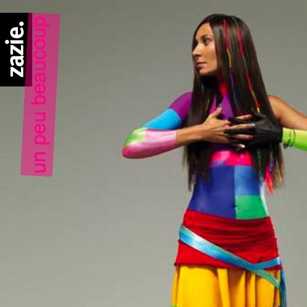 Just Cd Cover Zazie Zest Of Singles Cover Un Peu