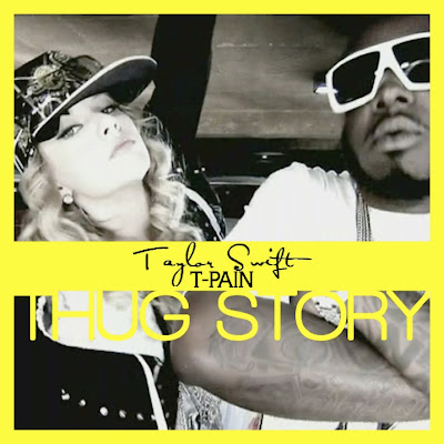 Just Cd Cover Taylor Swift Thug Story Feat T Pain Mbm Single Cover