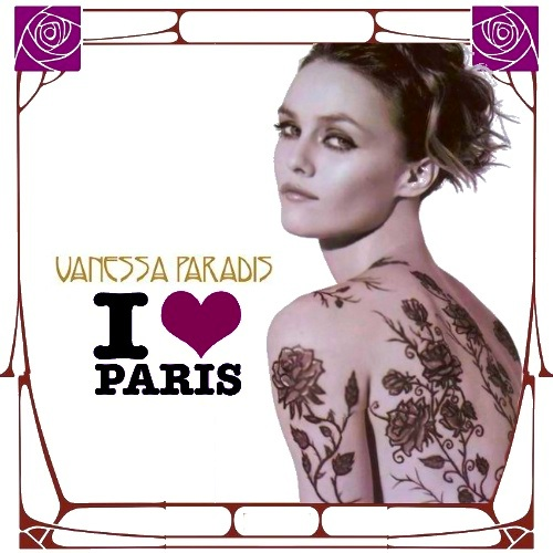 Vanessa Paradis: I Love Paris (MBM single cover) song taken From her Best of ...