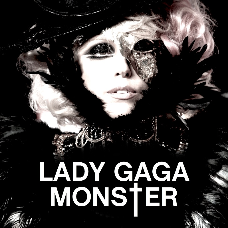 Just Cd Cover Lady Gaga Monster Mbm Single Cover From