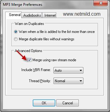 Cara menggabungkan file file MP3