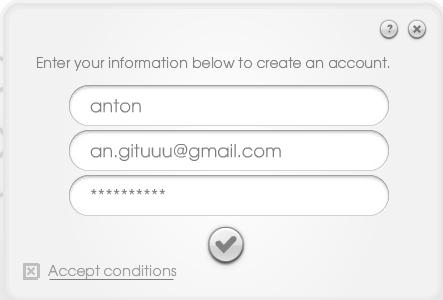 Send Email dengan tulisan tangan