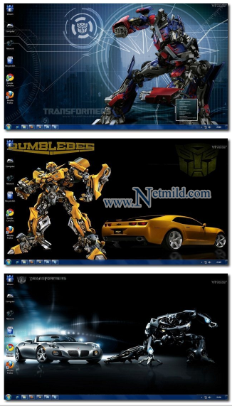 Windows 7 Themes : Transformers Theme