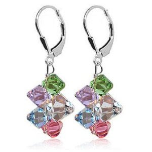 SCER001 Multicolor Cluster Swarovski Crystal