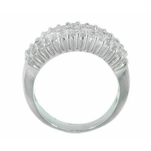 Anniversary Band in 14 kt. White Gold Ring