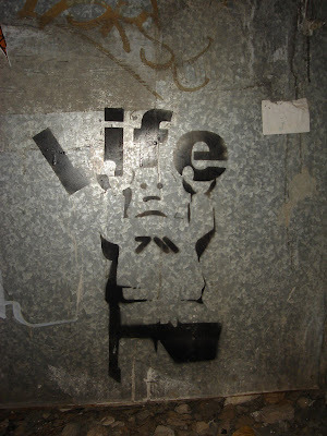 Street Art in Tel Aviv Lego Stencil 2