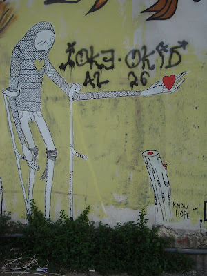 Street Art - Know hope