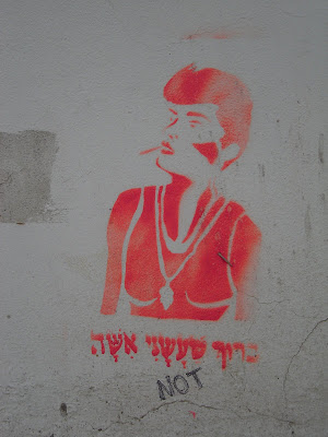 Woman Graffiti