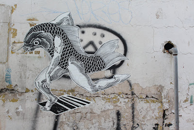 Street Art Blog - Poster Man-Fish