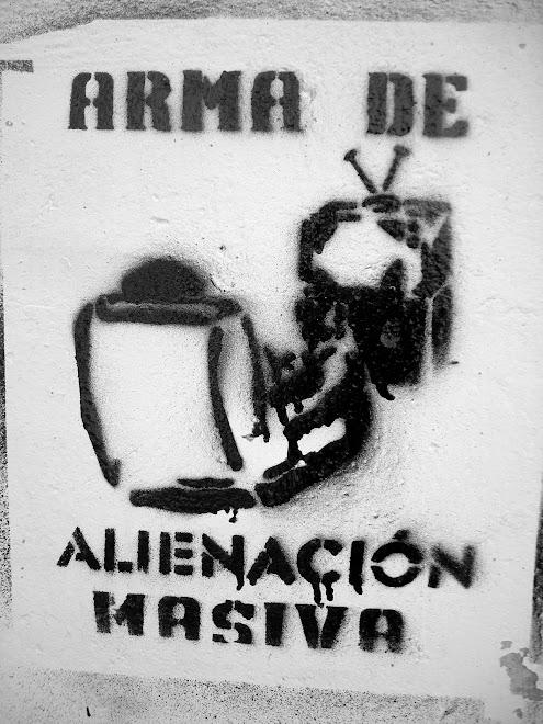 Anónimo, Cerro alegre. Stencil