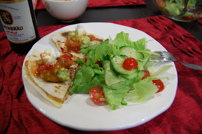 bloody good quesadillas