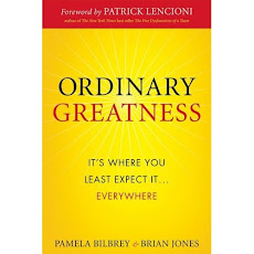 "My Book, ""Ordinary Greatness"""