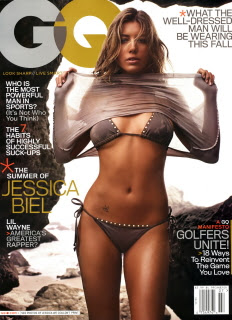 Jessica Biel @ GQ (US) Jul '07