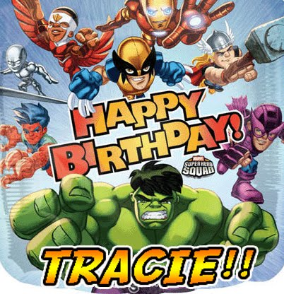Happy Birthday Tracie