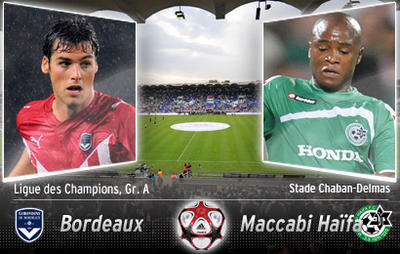 BORDEAUX MACCABI HAIFA STREAMING