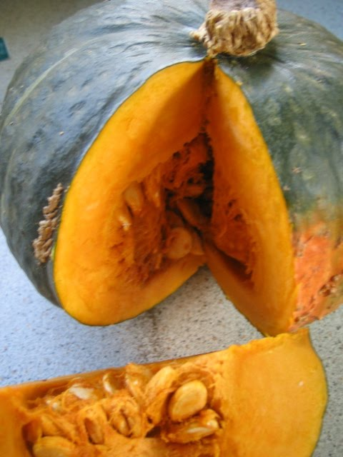 how to cook orange kabocha squash
