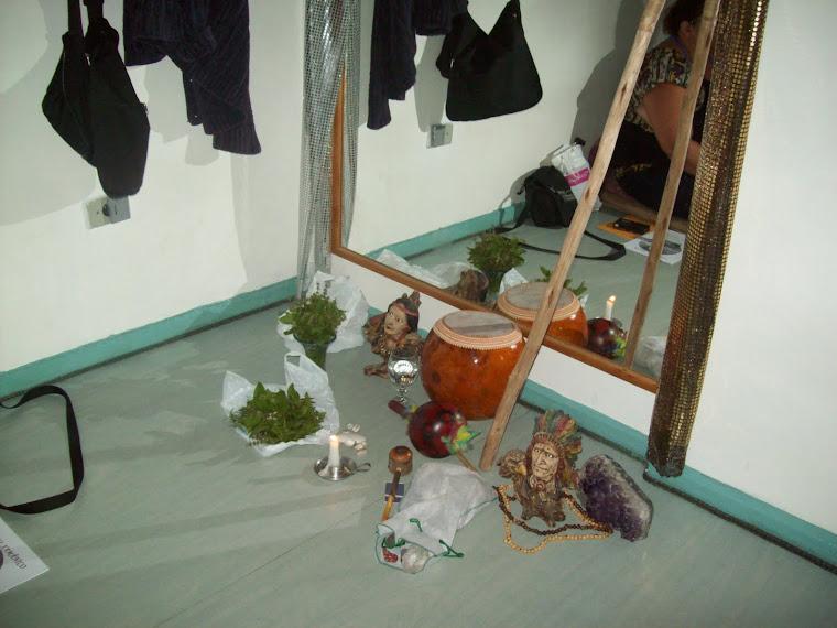 objetos usados no reiki xamanico