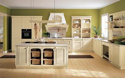 Consigli per la casa e l\' arredamento: Imbiancare cucina: colori ...