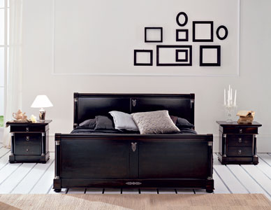 Consigli per la casa e l 39 arredamento arredamento i for Arredamento camera da letto nero