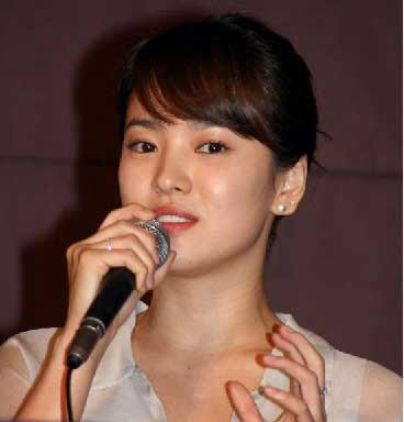 Merlion Cafe Talk: Song Hye Kyo's First Love Unforgettable ...