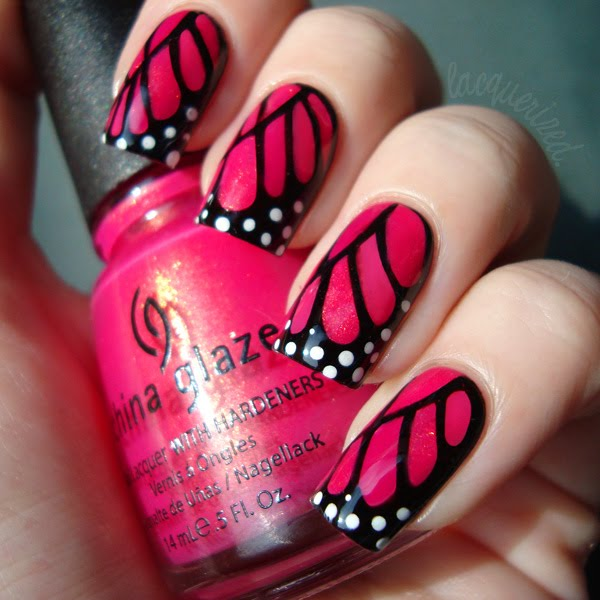 Butterfly Nail Designs Step By Step: The Lacquer Files: Nail Art Contest: Let The Voting Begin
